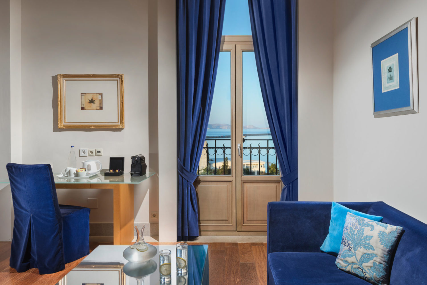 Heraklion Crete Junior Suite Sea View Megaron Hotel