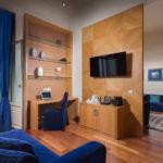 Presidential Suite Sea View at Megaron Hotel in Heraklion Crete