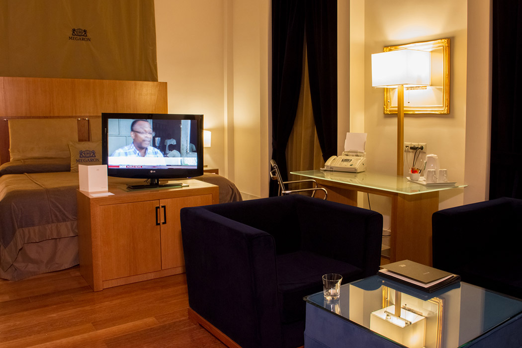 Junior Suite Urban View Megaron Hotel Crete