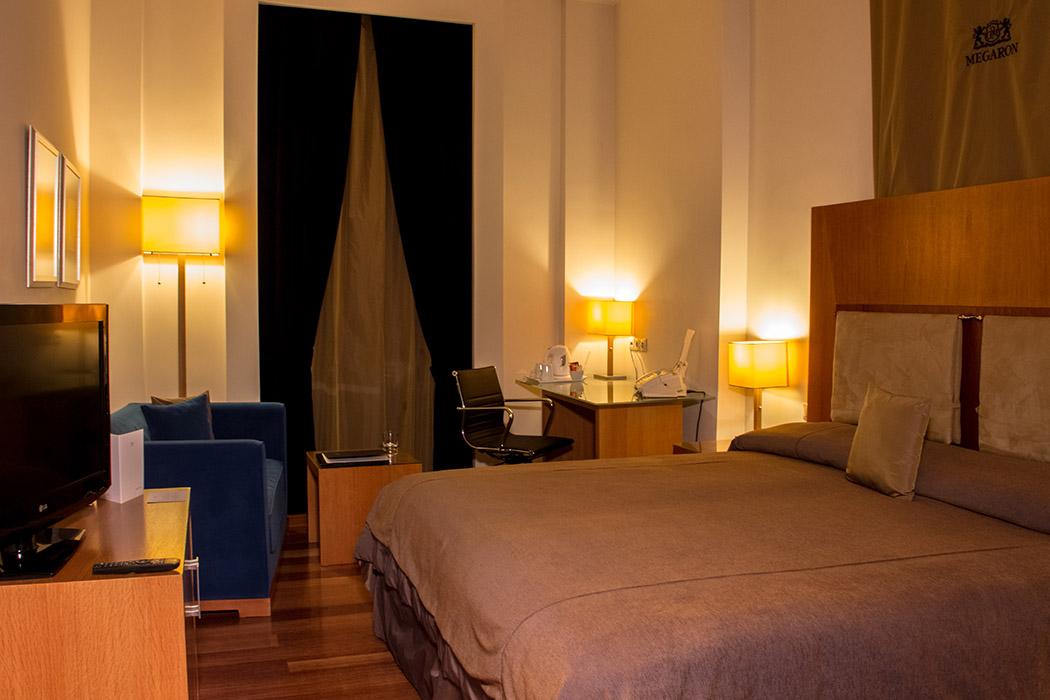VIP Room Sea and Koules View Megaron Hotel Crete